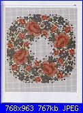 Labores con estilo - Rosas a Punto De Cruz *-24-jpg