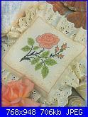 Labores con estilo - Rosas a Punto De Cruz *-38-jpg