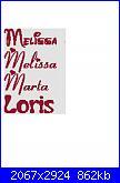 Gli schemi di maria27-melissa1-jpg