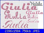 Gli schemi di Natalia...-giulia-3-jpg