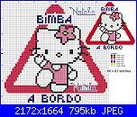 Gli schemi di Natalia...-bimba-bordo-kitty1-jpg