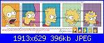 Gli Schemi di Bigmammy-francobolli-simpson-jpg