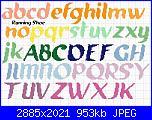 Gli schemi di Dolce-alfabeto-running-shoe-jpg