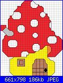 Gli schemi di Papavera-casa-fungo-jpg
