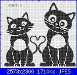 Gli schemi di Baby1264-gattini_innamorati_schema-jpg