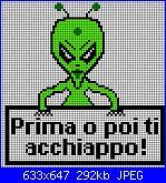 Gli schemi di Rossella Usai-alieno-1-jpg