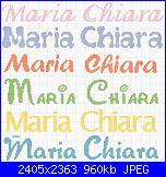 Gli schemi di sharon - 1-maria-chiara-jpg