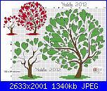 Gli schemi di Natalia - II-alberi-cuori-due-jpg