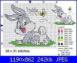 Gli schemi di Natalia - II-baby_bugs_bunny-jpg