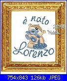 Gli schemi di Natalia - II-lorenzo-fm-baby-cornice-jpg