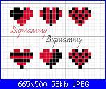 Gli Schemi di Bigmammy-cuoricini-rossoneri-jpg