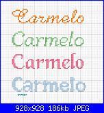 Gli schemi di sharon - 1-carmelo-jpg