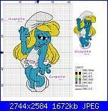 Gli schemi di Guapa86 ^_^-puffetta-2-jpg