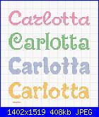 Gli schemi di sharon - 1-carlotta-jpg