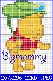 Gli Schemi di Bigmammy-baby_pooh_foglia-jpg