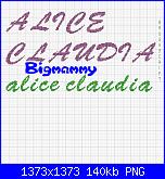 Gli Schemi di Bigmammy-alice-e-claudia-2-png