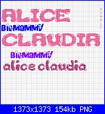 Gli Schemi di Bigmammy-alice-e-claudia-3-png