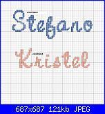 Gli schemi di Lidiatara1-stefano-kristel-nomi-x-bavaglie-jpg