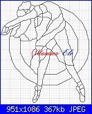 schemi di MAMMAELE-ballerina-vetrata-bianca-ele-jpg