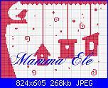 schemi di MAMMAELE-casette-uccellini-ele-jpg