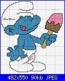 Gli schemi di AnnaEmme-puffo-golosone-jpg