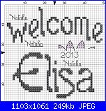 Gli schemi di Natalia - II-welcome-elisa-jpg