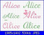 Gli schemi di sharon - 1-alice-jpg