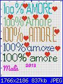 Gli schemi di Malù-100%25-amore-jpg
