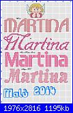 Gli schemi di Malù 2°-martina-con-angioletto-jpg
