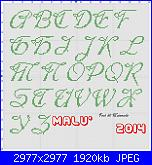 Gli schemi di Malù 2°-alfa-38-maiuscolo-jpg