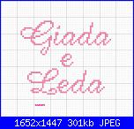Gli schemi di sharon - 1-giada-e-leda-jpg