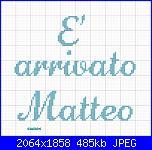 Gli schemi di sharon - 1-%C3%A8-arrivato-matteo-jpg