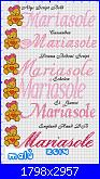 Gli schemi di Malù 2°-mariasole-con-orsetta-jpg