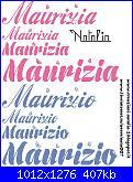 Gli schemi di Natalia - 4-maurizia-maurizio-jpg