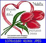 Gli schemi di Natalia - 4-portafedi-tulipani-118x93-rossi-jpg