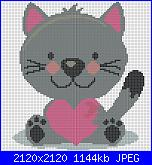 millyiu: I miei schemi-gattino-cuore-crocette-virtuali-jpg