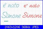 Gli schemi di sharon - 1-%C3%A8-nato-simone-jpg