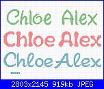 Gli schemi di sharon - 1-chloe-e-alex-jpg