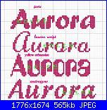 Gli schemi di Dolce-aurora1-jpg