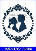 Gli schemi di nadiaama-sposi-con-cornice-monocolore1-jpg