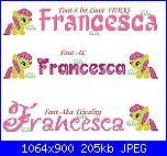 Gli schemi di Vale 22-nome-francesca-con-mini-pony-virtuale-jpg