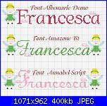Gli schemi di Vale 22-nome-francesca-con-fatina-jpg