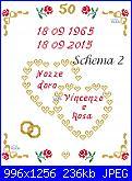 Gli schemi di Vale 22-schema-nozze-d0ro-con-cuori-2-virtuale-jpg