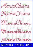 Gli schemi di Vale 22-nome-mariachiara-virtuale-jpg