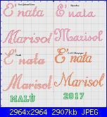 Gli schemi di Malù 2°-e_-nata-marisol-jpg