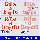 Gli schemi di Malù 2°-rita-bordo-jpg