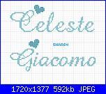 Gli schemi di sharon - 2-celeste-e-giacomo-jpg