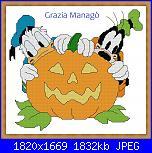 Gli Schemi di Grazia Managò-gm-303-paperino-e-pippo-halloween-jpg