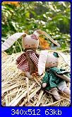 Cerco cartamodelli conigli Tilda-bichinos-jpg
