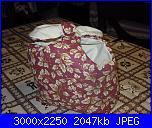 I lavoretti di Monica - cucito creativo-cestino-rosso-jpg